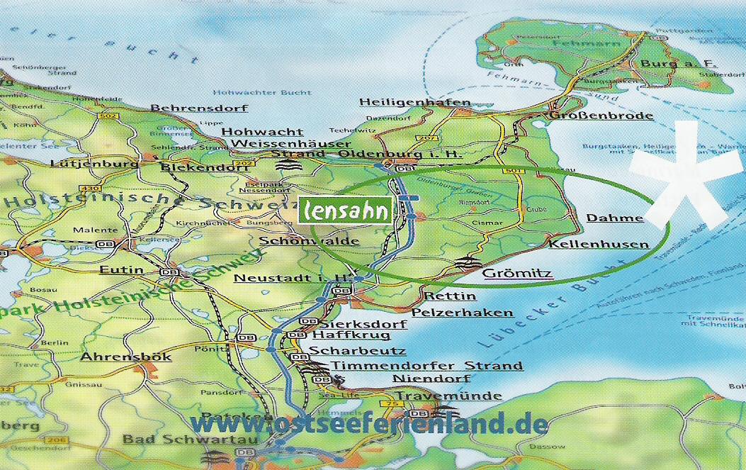 Holsteinische Schweiz Karte.Karte Oh